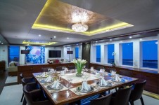 Superyacht NASSIMA -  Formal Dining