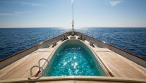 Superyacht NERO - Foredeck Swiming pool