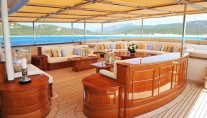 Superyacht NERO - Middle deck Living area