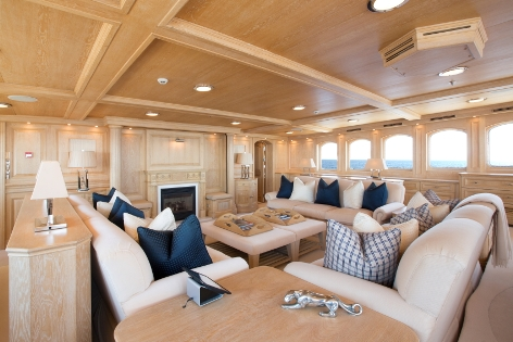 Superyacht NERO - Owners Observation Lounge