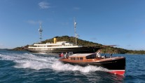 Superyacht NERO - With Tender