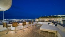 Superyacht NOBLE HOUSE -  Sundeck bar