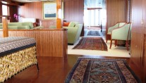 Superyacht NORTHERN SUN - Hand woven antique rugs throughout