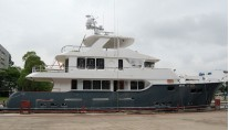 Superyacht Nordhavn 96 - side view