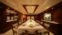 Superyacht OCEANOS -  Formal Dining
