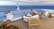 Superyacht OCEANOS -  Upper Aft Deck