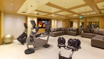 Superyacht OMEGA - Gym