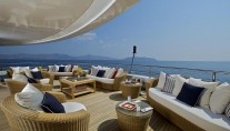 Superyacht OMEGA - Upper deck aft