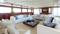 Superyacht OMEGA - VIP salon