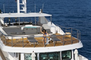 Superyacht OUT -  Aft View