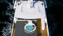 Superyacht OUT -  View of Sundeck from Above