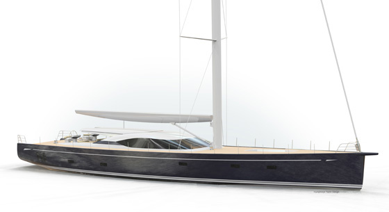 Sailing Yacht Oyster 115