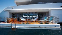 Superyacht PEGASUS V (ex PRINCESS MARIANA) -  Beach Club