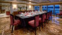 Superyacht PEGASUS V (ex PRINCESS MARIANA) -  Formal Dining