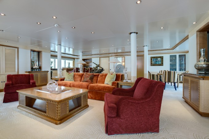 Superyacht PEGASUS V (ex PRINCESS MARIANA) -  Main Salon