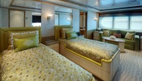 Superyacht PEGASUS V (ex PRINCESS MARIANA) -  Twin Guest Cabin