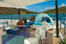 Superyacht POLARSTAR - Sundeck Bar
