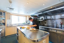 Superyacht POLARSTAR - galley