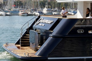 Superyacht Paramour - rear view