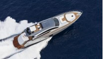 Superyacht Pershing 82 - view from above-001