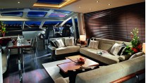 Superyacht Predator 80 - Main Saloon