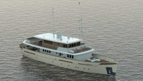 Superyacht Project Oldesalt from above
