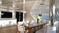 Superyacht REBEL - Main deck aft