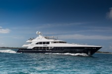 Superyacht REBEL (ex Perla Blu, MUSTANG SALLY )