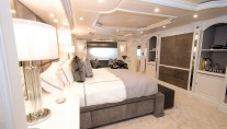 Superyacht REBEL - Master stateroom