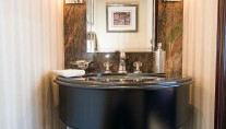 Superyacht REBEL - Stylish basin