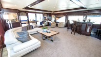 Superyacht REBEL - Upper salon