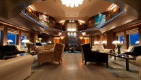 Superyacht Reborn - Main Salon and Atrium
