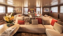 Superyacht SARAMOUR - Upper Saloon
