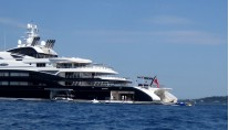 Superyacht SERENE in the Mediterranean