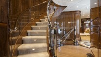 Superyacht SILVER LINING - Guest foyer