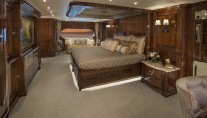 Superyacht SILVER LINING - Master stateroom