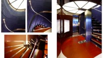 Superyacht SKY - Interior by Mojo-Stumer Associates - ATRIUM