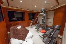 Superyacht SKYFALL - Gym