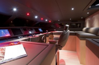 Superyacht SL96 Special Edition - Wheelhouse