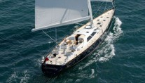 Superyacht SYMMETRY - aft view