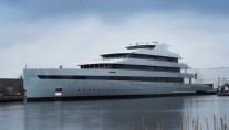 Superyacht Savannah on the water