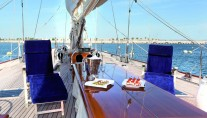 Superyacht THIS IS US (ex Skylge) deck