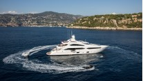 Superyacht THUMPER. Photo credit Sunseeker Yachts