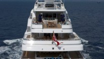Superyacht TITANIA -  Aft View