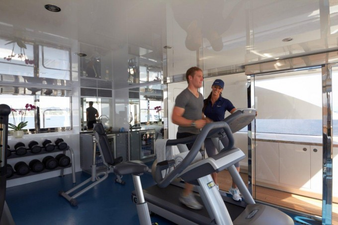 Superyacht TITANIA -  New Gym