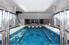 Superyacht TITANIA -  Upper Deck Spa Pool 2