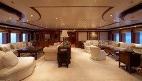 Superyacht TITANIA -  Upper Saloon