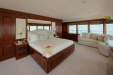 Superyacht TITANIA -  VIP Master on Upper deck View 2