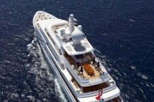 Superyacht TITANIA -  View from Above