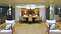 Superyacht TV - Dining - Indoor Outdoor Flow
